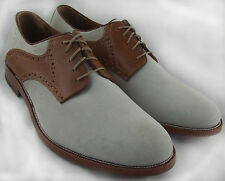 154708 MS50 Men's Shoes Size 11 M Beige Sueded Leather Lace Up Johnston Mur
