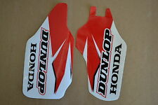 HONDA  FORK GUARD GRAPHICS HONDA CR250X CRF450X    DUNLOP