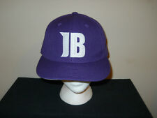 Justin Bieber concert fitted purple fits sz 7 1/4 - 7 3/8 hat sku9