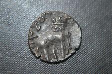 ANCIENT INDIA - SATAVAHANA Empire - c.150AD - Elephant - RARE COIN