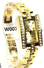 New Citizen Ladies  Gold-tone 72 Genuine -Crystals, Gold-Dial, Dress Watch
