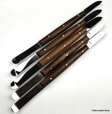 5x Wachsmesser nach Fahnenstock 17cm Dental Labor Wachs Gips Messer Spatel NATRA
