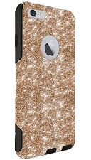 "Otterbox Case Customized Glitter For 5.5"" iPhone 6/6s Plus Gold/Black Sparkles"