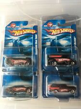 US Only Hot Wheels Collectors.Com Set Of 4 Mail In Cars 2008 Dairy VW Bus Nomad