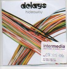 (M868) The Delays, Hideaway - DJ CD