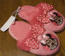 Size 5-6 Youth NWT DISNEY COLLECTION Minnie Mouse Slippers Pink