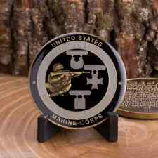 "MARINE CORPS  RIFLEMAN CREED BADGES USMC 1.75"" CHALLENGE COIN"