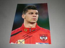 Aleksandar Dragovic  Österreich Leverkusen signiert signed Autogramm 20x28 Foto