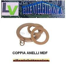 WDR28 Az Audiocomp Coppia Anelli Supporti Tweeter Legno MDF Elaborati