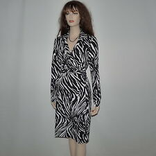Elegance New Diane Von  Furstenberg New Jeanne  Two Wrap'  Dress Size 10
