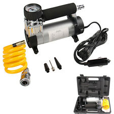 Portable Car Auto Electric Air Compressor Tire Inflator Pump 12V 150PSI + Gauge