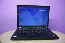 Laptop Lenovo Thinkpad T400 14.1' 2.5Ghz 2GB RAM 250GB Windows 7 WEBCAM Grade B+