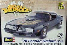 Revell Monogram 1978 Pontiac Firebird 3'n 1  model kit 1/24