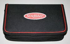 Travel Scrabble To Go Folio Board Game Padded Zipper Case 100% complete & nice
