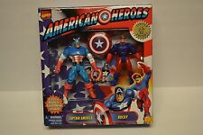 Marvel Comics American Heroes Captain America and Bucky MIB