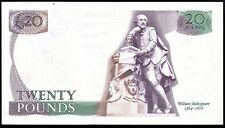 B355 GILL 1988 £20 ERROR BANKNOTE * MISSING ROMEO & JULIET * gEF * 08R *
