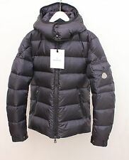 AUTHENTIC BNWT MONCLER  HOODED DOWN JACKET FOR MEN IN NAVY SIZE 3/US LARGE