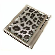 Leonardo Savannah Glass Front Notebook & Pen Set Silver