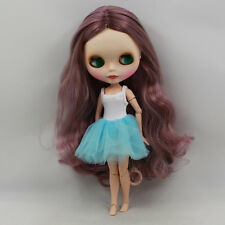 "12"" Neo Blythe Doll Joint Body Matte Face from Factory Nude Doll JS002"