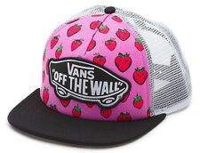 Vans Shoes Off The Wall Women's Beach Girl Trucker Hat Cap - Strawberries