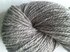 500 g Natural Light GREY Pure Wool Chunky Aran Weight Skeins
