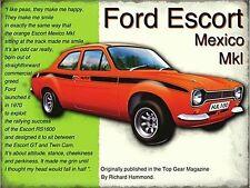 Ford Escort Mexico fridge magnet   (og)