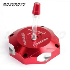 CNC Aluminum Gas Tank Cap Cover For RACER Fit 2004-2013 YAMAHA YZ250F 2012 Red