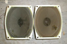 Pair of used Vintage Philips Ticonal Alnico oval speaker A1618-3 wide range