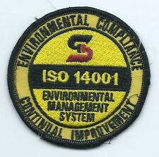 Safety Kleen Richardson TX ISO 14001 patch 3 in dia #574