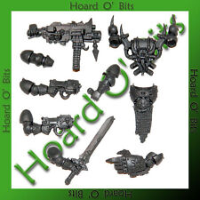 WARHAMMER 40K BIN BITS CHAOS SPACE MARINES - CHAMPION ARMS and BODY