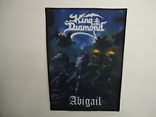 KING DIAMOND ABIGAIL SUBLIMATED BACK PATCH