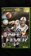 NFL Fever 2002 MICROSOFT XBOX VIDEO GAME (PEYTON MANNING FRONT COVER)
