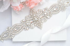 SALE crystal rhinestone Wedding Belt, Bridal Belt, Sash Belt, Crystal Rhinestone