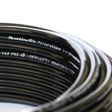 1pc PU Polyurethane Tubing 1/4 OD BLACK 30m (98ft)  for MettleAir PU1/4-30BK