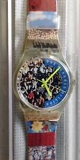 """SWATCH WATCH GZ126  """"THE PEOPLE"""" 1992, New in box/mint condition"""