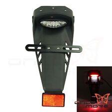 LED Tail Light Rear Fender License Plate Bracket Fit Dirtbike Motocross KLX EXC