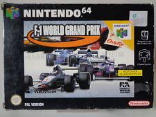 N64 Spiel - F1 World Gran Prix (mit OVP) 10636435