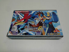Rockman EXE 6 Falzer BOX Only Nintendo Game Boy Advance Japan