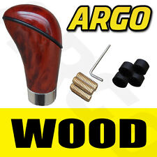 WOODEN WOOD EFFECT GEAR SHIFT LEVER STICK KNOB FOR CAR