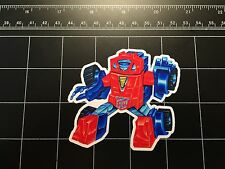 Transformers G1 Gears box art vinyl decal sticker Autobot 1980s 80s toy minibot