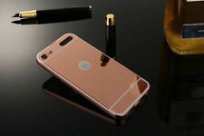 Luxury Aluminum Metal Case + PC Mirror Back Cover For Apple iPod Touch 5 Touch 6