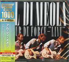 AL DI MEOLA-TOUR DE FORCE- LIVE-JAPAN CD B63
