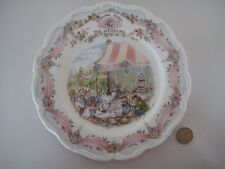 "Royal doulton brambly hedge 8"" le mariage plaque english bone china 1st qual"