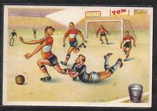 SPORT CALCIO SOCCER comic PC ITALY Circa 1940 2