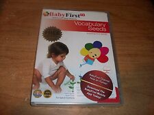 BabyFirst TV Watch Your Baby Blossom Inspiring Vocabulary Seeds (DVD, 2007) NEW
