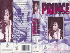 PRINCE THE EARLY YEARS   VHS PAL VIDEO~ A RARE FIND