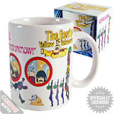 The Beatles Mug - Yellow Submarine Coffee Cup Kitchen Novelty