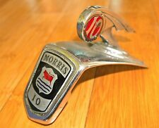 VINTAGE MORRIS 10 CHROME HOOD ORNAMENT 100% ORIGINAL 1930's RARE M1059/4