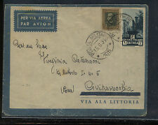 Italy   Eritrea   cover to  Europe    1939         MS0123