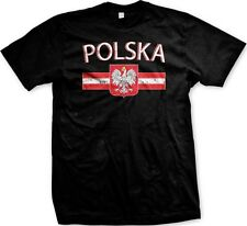 Polska Flag Poland Polish Nationality Ethnic Pride 2014 World Cup -Men's T-shirt